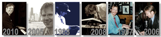 Collage of Photos from Thomas taken  between 1988-2010