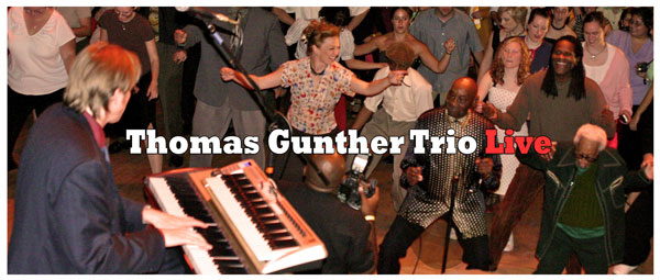 Frankie Manning and the Thomas Gunther Trio